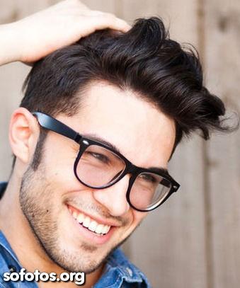 cabelo volumoso masculino