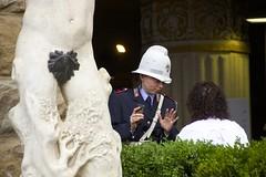 Scale Model (JJ San) Tags: italy sculpture florence leaf funny italia fig firenze palazzo vecchio palazzovecchio