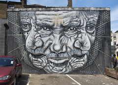 Hackney Road (p3cks57) Tags: street london art graffiti oracle pyramid