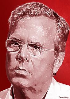 From flickr.com/photos/47422005@N04/19835677001/: Jeb Bush - Portrait