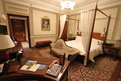 Astor Hotel Tianjin - bedroom in heritage wing of hotel (Bruce in Beijing) Tags: tianjin astorhotel history heritage hotel hospitality legend icon building design historicpreservation concessionarea bedroom iconic comfort sophistication historicfeel fourposterbed furnishings unique