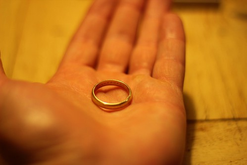 I founded the ring or the ringfounded me?