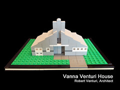 LEGO Vanna Venturi House - Cover (keoarchitect) Tags: postmodern venturi building design architect complexityandcontradiction postmodernism pennsylvania house mothershouse vsba chestnuthill philadelphia legoarchitecture venturiscottbrownandassociates robertventuri lego legoideas legomoc architecture