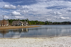 The Beach at WilllowTree RV resort in SC (Largeguy1) Tags: approved beach blue sky clouds landscape canon 20d