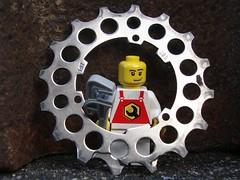 Ritzel (captain_joe) Tags: macromondays madeofmetal toy spielzeug 365toyproject lego minifigure minifig