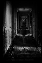 Fear Of The Dark (PvRFotografie) Tags: dark donker house abandoned monochrome zwartwit blackandwhite blackwhite sonyilca99m2 sigma12244556 1224mm sigma1224mm