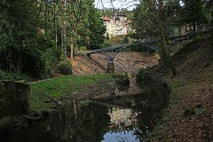 Reflection, Cragside, Northumberland (Geraldine Curtis) Tags: reflection northumberland nationaltrust williammorris artsandcrafts cragside