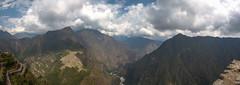 Le Machu Picchu vu depuis le Wayna Picchu