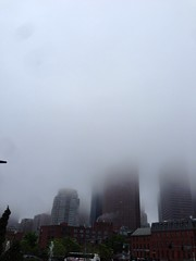 Foggy Boston #nofilter (anandrajaram) Tags: commute nofilter uploaded:by=flickrmobile flickriosapp:filter=nofilter