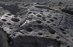 Petroglyphs / Grimes Point Site (Ron Wolf (...detests this new design...)) Tags: archaeology nevada pit nativeamerican petroglyph anthropology shoshone rockart blm piute cupule numic grimespoint pitandgroove nvch3