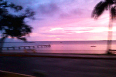 Passing By (Ebony5678) Tags: sunset beach driving shoreline noumea