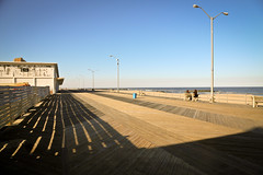 Greetings from Asbury Park (TW Collins) Tags: fence newjersey spring construction shadows post asburypark repair boardwalk restoration monmouthcounty jerseyshore atlanticocean goldenhour rebuilding longshadows newwood asburyparkboardwalk hurricanesandy