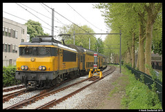 NSR, 1715 + DDAR 7435, Utrecht 25-05-2013 (Henk Zwoferink) Tags: ns henk nsr ddar spoorforum zwoferink