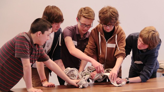 LiveWire Creative Careers Week - Theatre Puppet Making 7