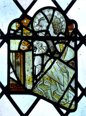 fragments: angel head (15th Century) (Simon_K) Tags: nethergate saxlingham