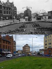 Eglinton toll then and now (Dave S Campbell) Tags: scotland glasgow eglinton present southside then now past pollokshaws