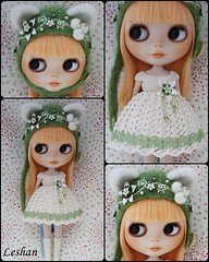 Tomorrow Update!!! June 20th. 23:30 pm Spanish time (Leshan1) Tags: green hat doll dress crochet helmet mango blythe leshan kittyhelmet rbl feltedhat dolldress blythedress dollcrochet blythecrochet leshancrochet