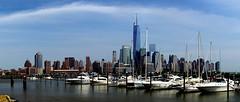 Lower Manhattan from Newport, Jersey City (Kumar Appaiah) Tags: new nyc newyorkcity panorama newyork newjersey jerseycity newport jersey