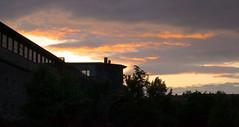 Sunset in Ulm - My first single RAW HDR (Manu766) Tags: sunset building raw sonnenuntergang burningsky gebäude hdr ulm singlerawhdr