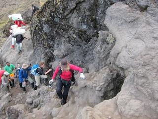 Climbing Kilimanjaro's Barranco Wall