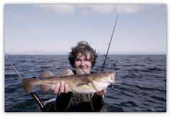 Flyfishing for cod (Nicolas Valentin) Tags: sea scotland kayak flyfishing cod eastcoast onthefly nicolasvalentin kayakscotland onthekayak flyfishingforcod