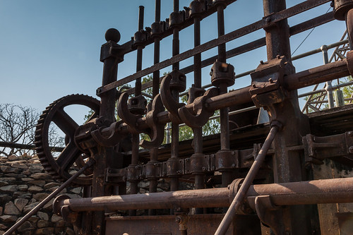 Pine Creek Miners Park - Old Machinery