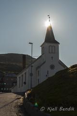 Honningsvg church (kjellbendik) Tags: norge himmel finnmark honningsvg kirke bl kirker magerya byggning naturoglandskap