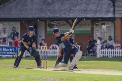 driven... (markhortonphotography) Tags: canon ball bat hampshire 7d match pavilion benefit stumps c130 pads cricketclub wicket hartleywintney 100400l hampshireccc eos7d