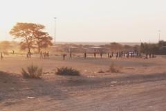 (felixmm.) Tags: africa street houses sun playing beauty kids work fun photography evening town photo football kid felix african memories wanderlust mothers hut shack namibia township namibian machleid