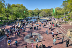 Bethesda Fountain in Central Park - HDR (m01229) Tags: nyc newyork centralpark hdr bethesdafountain d7000