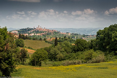 San Gimignano (Documentary & Travel Photography) Tags: old travel sunset red italy sculpture white storm black flower tower church rain fashion bicycle ferry angel bronze train vintage garden walking landscape religious florence fishing ancient san italia commerce shadows gimignano cathedral roman religion tram rail arena pisa chiesa shore cycle transportation tuscany villa firenze siena piazza duomo toscana stroll leaning wisteria miracoli inclined travelitaly passagiata