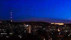 Pretoria skyline (Siyabonga Mahlangu) Tags: city light urban buildings cbd