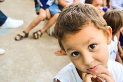 Apresentao Marionetes - Ilha Design (Carine fel) Tags: brazil people smile brasil riodejaneiro kids children fun nikon ilhagrande crianas ilhadesign nikond3100
