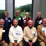 "<b>1963 #1</b><br/> Back Row: Joan (Catlin) Totten, Sandra (Wainwright) Sayko, Mary (Ericksen) Skundberg, Andrea (Cowles) Nelson. Front Row: Chuck Fluegel, Gary Skundberg, Brian Schelling, Mike Woelffer <a href=""http://farm4.static.flickr.com/3823/10422444226_21fe9e03ee_o.jpg"" title=""High res"">∝</a>"