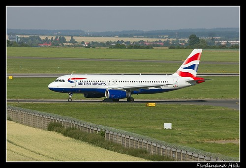 Airbus A320-232_G-EUUL _British Airways_Airport Prague Ruzyně_Czech Republic
