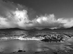 6. Adult Land RunnerUp - Slow Moving Hail Showers, North Harris Hills (from Horgabost, West Harris). Gordon MacDonald