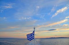 Greece (Explore) (nikos_m) Tags: blue light cloud color colors clouds greek boat nikon greece greekislands paxoi d7000 paxosisland