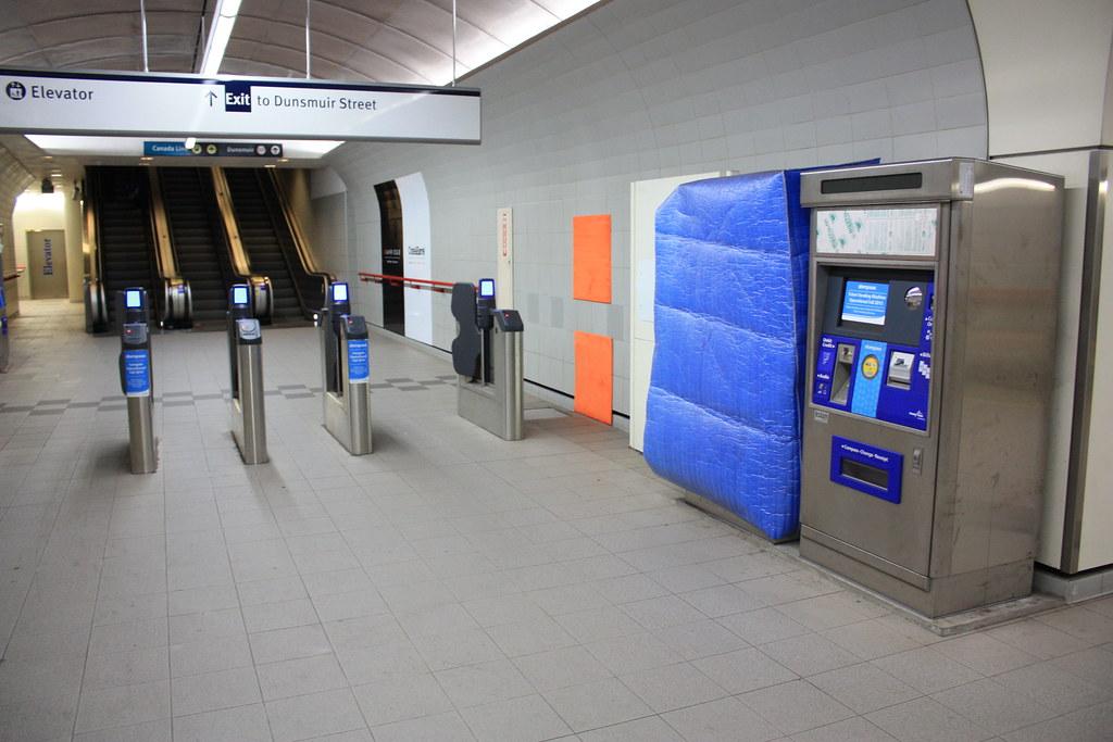 Granville SkyTrain Station