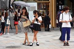 Tokyo street (maciej.ka) Tags: japan japanese tokyo schoolgirl japon omotesando japani tokio jepang japn japonya japoni jaapan japn japonsko
