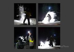 Snow fight (KronaPhoto) Tags: winter light people snow cold boys norway kids barn vinter fight familie collection gutter lys morten anders kamp snø 2014 personer lykt kolleksjon