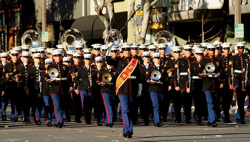 From flickr.com: US Marine Corps Marching Band {MID-169648}