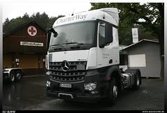"Mercedes Benz Arocs 1843 ""Mercedes Benz CharterWay"" (uslovig) Tags: truck germany way deutschland mercedes benz lorry camion mb charter lastwagen lkw 1843 kronach lastkraftwagen 2013 arocs"