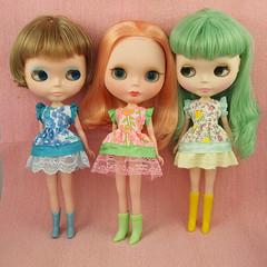 sabine, frenchie & flossie