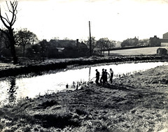 Image titled Forth And Clyde Canal From Ruchazie Side 1950