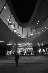 Pasing Arcaden (andreaslange) Tags: street city light blackandwhite black monochrome architecture germany munich photography nikon women angle wide sigma architektur 1020mm ultra f4 arcaden pasing 10mm weitwinkel schwarzweis d5100