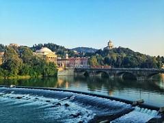 Ponte Vittorio Emanuele I, la Gran Madre e il Monte dei Cappuccini (Filippo Giampapa) Tags: torino fiume ponte po granmadre cappuccini