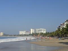 The Beach (knightbefore_99) Tags: sea west sol beach mexico coast sand pacific sunny playa mexican tropical hotels zihuatanejo ixtapa guerrero