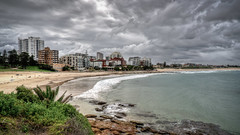South Cronulla (Mariasme) Tags: seascape beach clouds hdr favescontestwinner