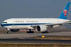 China Southern Cargo 777F (Maik Schetters) Tags: china france berlin star airport iran frankfurt aircraft air southern korean airbus boeing condor klm 777 lufthansa 747 a330 757 a340 767 737 a320 alliance a319 airplance a310 a318 egyptair etihad eddf tuifly frankfurd