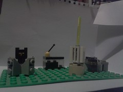 Outpost 52 (kelemonopy) Tags: brick idea lego space small plate imagine ao base planetoid nottoscale baseplate colonise